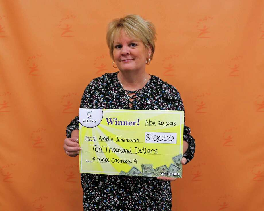 Branford woman's winning lotto ticket revealed son's name - New