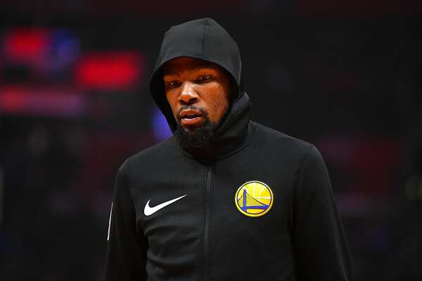 new styles e4a49 e1203 Warriors' Kevin Durant fined $25K for cursing out fan ...