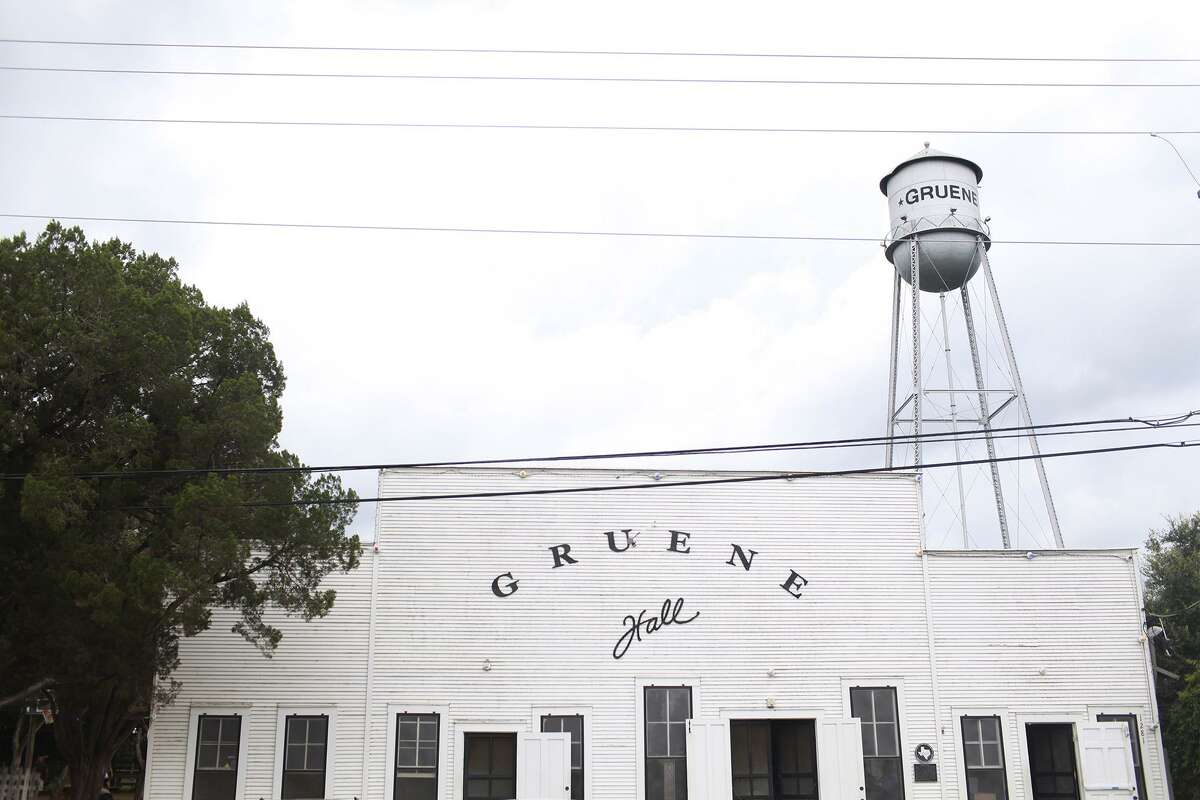 Like most bars and night clubs in Texas, Gruene Hall is closed, but it opened its beer garden on Thursday as a way to still serve its customers during the coronavirus pandemic.