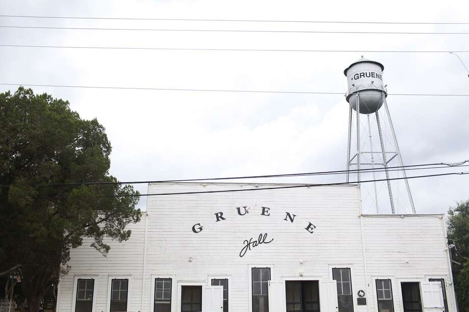 Like most bars and night clubs in Texas, Gruene Hall is closed, but it opened its beer garden on Thursday as a way to still serve its customers during the coronavirus pandemic. Photo: Abbey Oldham /Express-News File Photo / © San Antonio Express-News