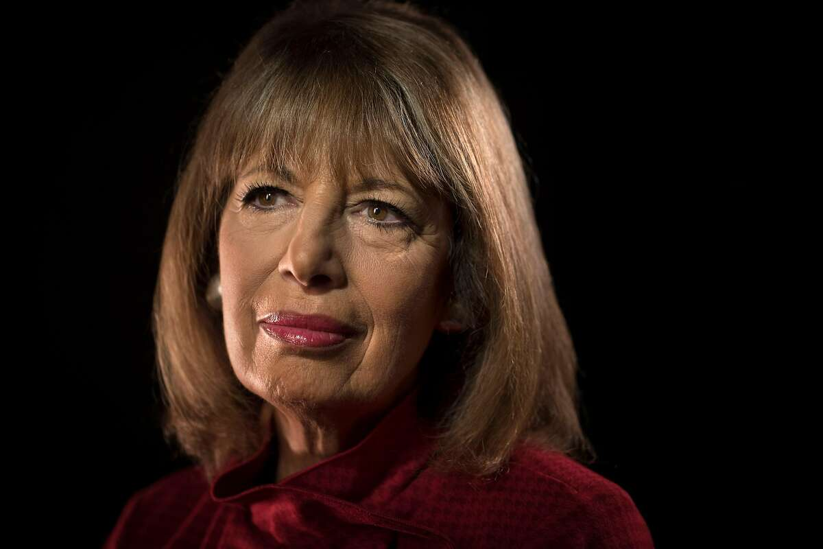 Congresswoman Jackie Speier in San Francisco, Calif., on Thursday, October 11, 2018. Speier is donating her pay in solidarity for the duration of the government shutdown.