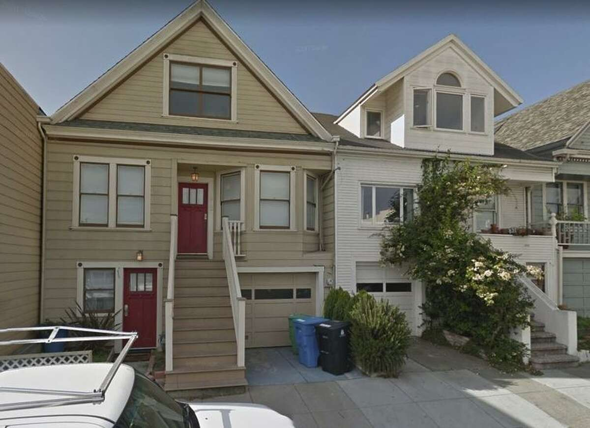 Gunfire erupted at a party last year at 212 Banks St. (left), an illegally converted short-term rental.