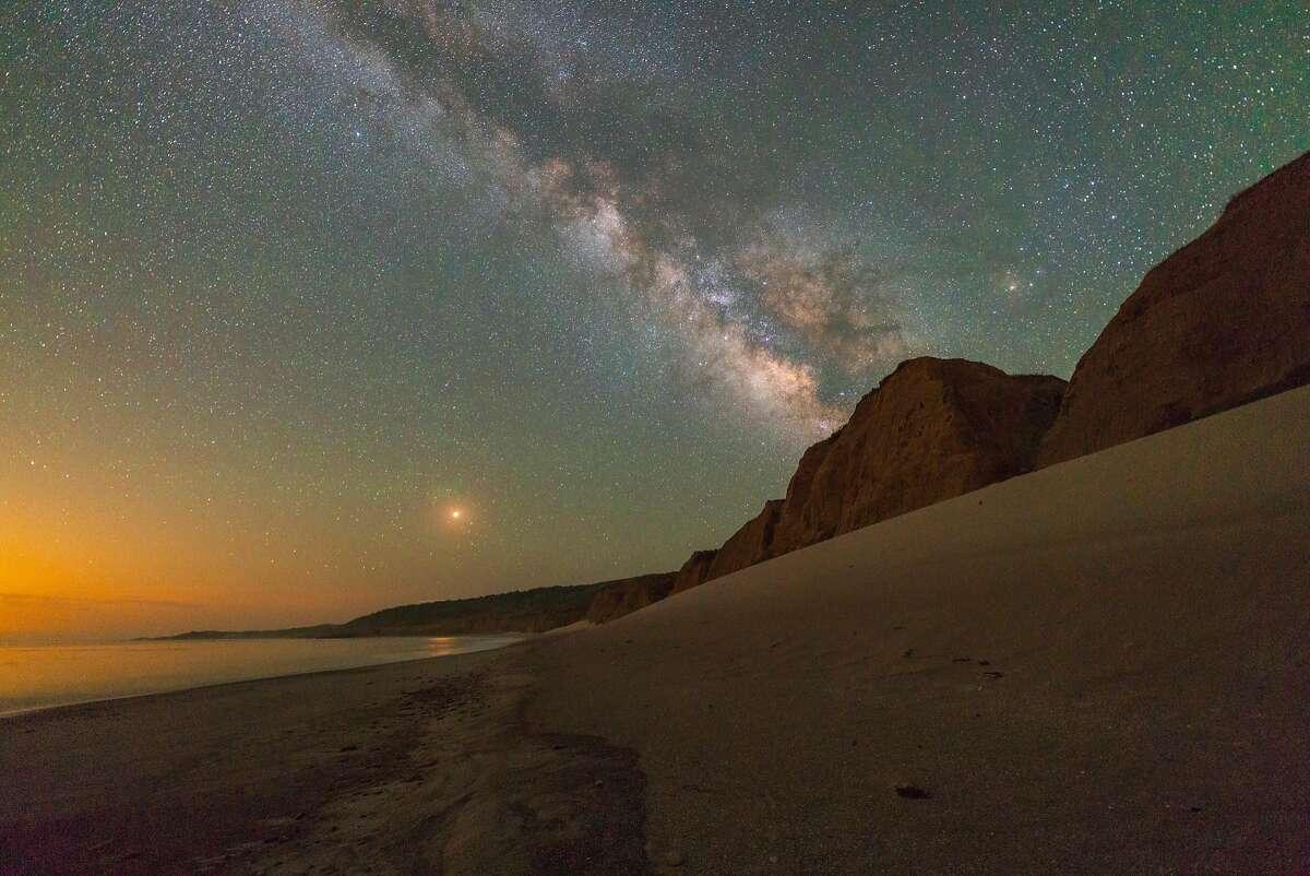 The nighttime sky, as seen from Santa Rosa Island.