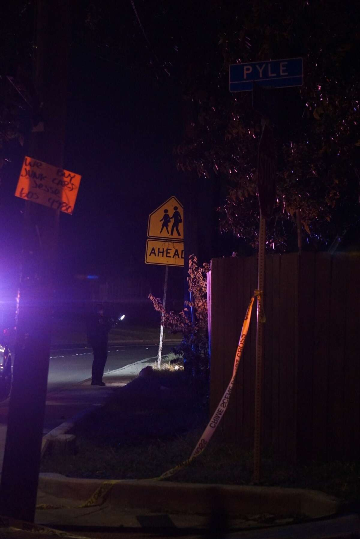 Police said a woman was struck by at least one bullet 6:30 p.m. Tuesday Nov. 20, 2018 near Pecan Valley Drive and Pyle Street.