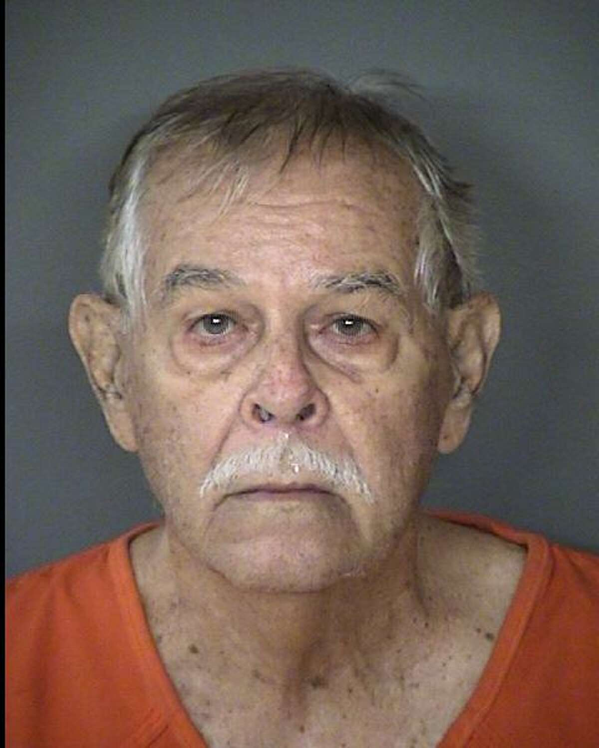 Donald Martin, 77, was arrested Tuesday, Nov. 20, 2018, and charged with cruelty to a non-livestock animal. Martin allegedly stood on a balcony and fired shots at a group of cats, fatally injuring one on Nov. 12 at the Spanish Oaks Apartments, 3206 Cripple Creek, according to Animal Care Services.