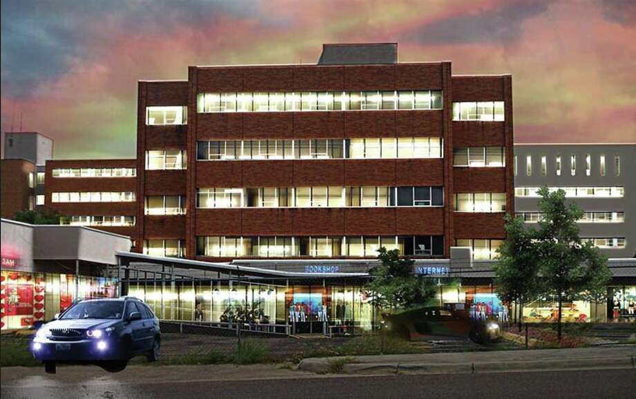 This rendering shows what the former Mercy Hospital building could look like if it underwent renovations. Photo: Courtesy