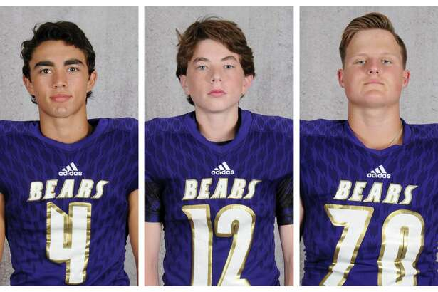 Luke Loera, Nate Colborn and Tyler Holliday are all members of the Montgomery football program, and all three are ranked in the top 10 of their senior class academically.