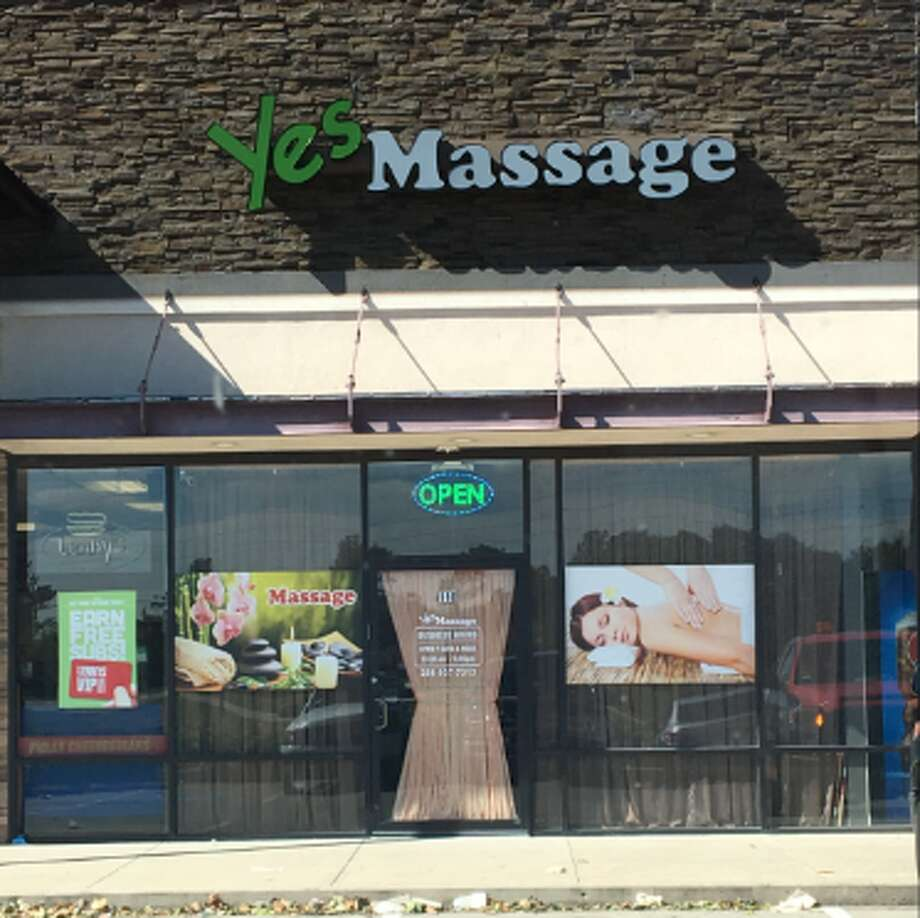 "The ""YES Massage"" off Crabb River Road in Richmond was identified as an illegal massage parlor and shut down by Fort Bend County Sheriff's Office detectives Nov. 20. Photo: Courtesy Fort Bend County Sheriff's Office"
