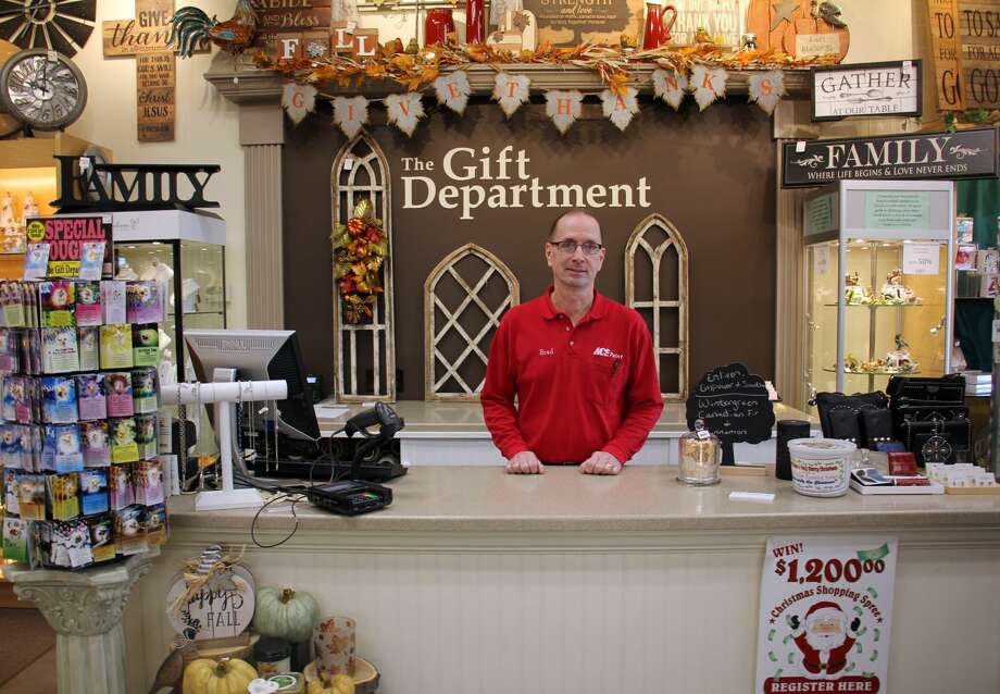 The Gift Department in Bad Axe is anticipating a busy day of sales on Saturday. The store will be open from 8:30 a.m. to 5 p.m. and will feature a number of different sales — including discounts on soaps, candles and lotions. Photo: Bradley Massman/Huron Daily Tribune