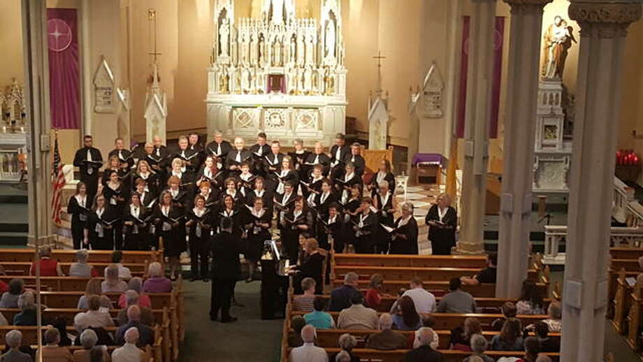 The Collinsville Chorale includes members from around the Metro East and Greater St. Louis area. Photo: For The Telegraph