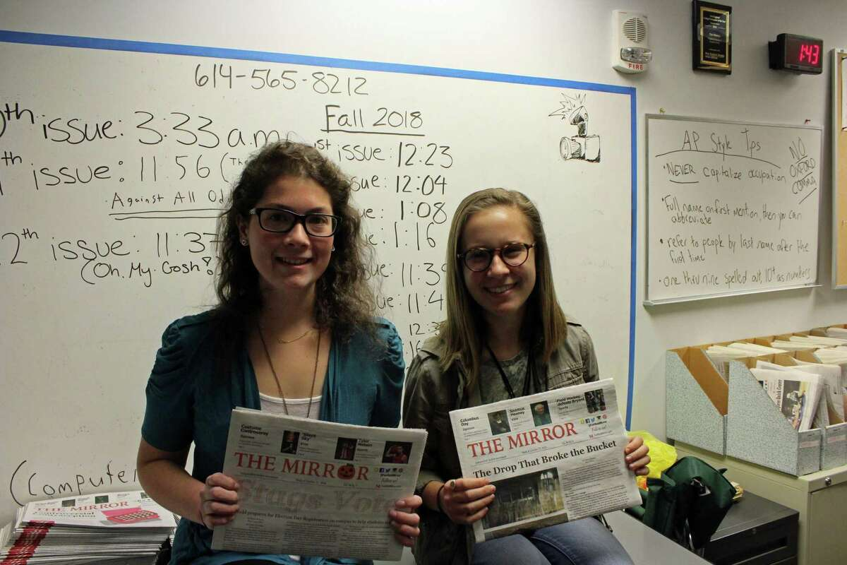 From left, executive editor Cara Lee and editor-in-chief Ali Phaneuf.