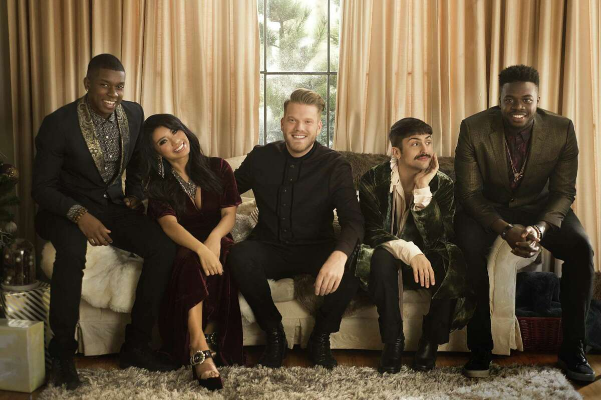 Pentatonix performs at the Smart Financial Centre on Monday.