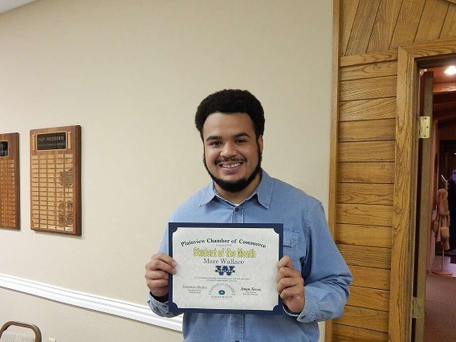 Marc Wallace, junior elementary education major at Wayland Baptist University Photo: Courtesy Photo