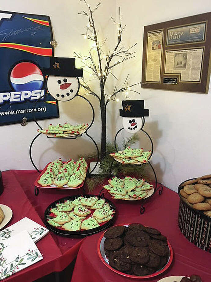 The public and guests can enjoy homemade cookies and hot cocoa when they drop off donations for the United Way's and The Telegraph/Intelligencer's Community Christmas from 7 to 9 p.m., Friday, Nov. 29.