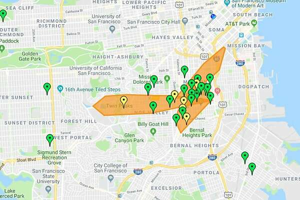 Power Outage Hits 30 000 Plus Pg E Customers In Bay Area