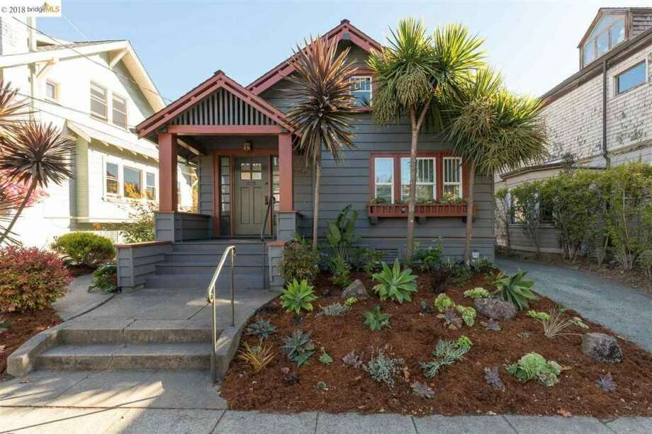 A 1903 Craftsman bungalow at 1812 Virginia St. in a popular North Berkeley neighborhood sold for 70 percent over the asking price. Photo: Peter Lyons