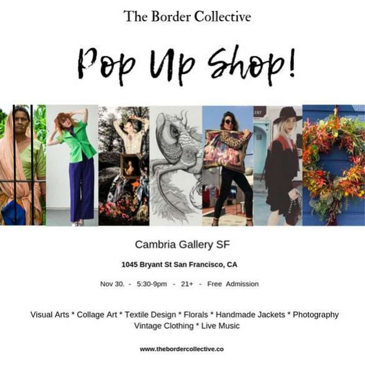 The Border Colletive is hosting their first holiday market at Cambria Gallery Nov. 30.