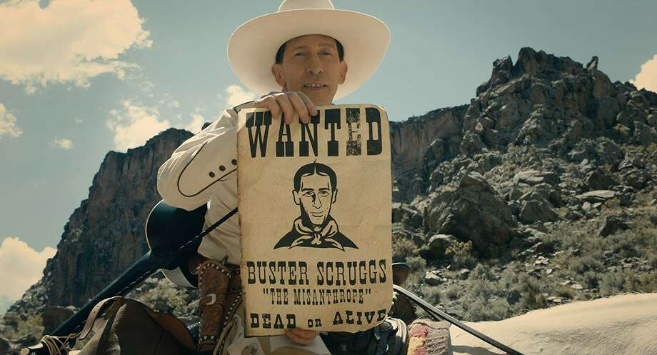 Tim Blake Nelson in the Coen Brothers' 'The Ballad of Buster Scruggs' Photo: Netflix