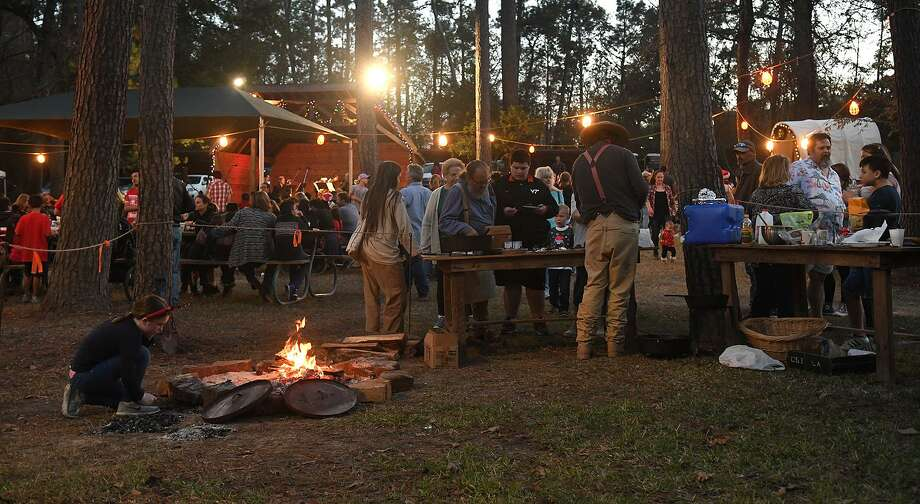 The annual Old-Fashioned Christmas was held at the Jesse H. Jones Park & Nature Center in Humble on Dec. 2, 2017. (Photo by Jerry Baker/Freelance) Photo: Jerry Baker, Freelance / For The Chronicle / Freelance