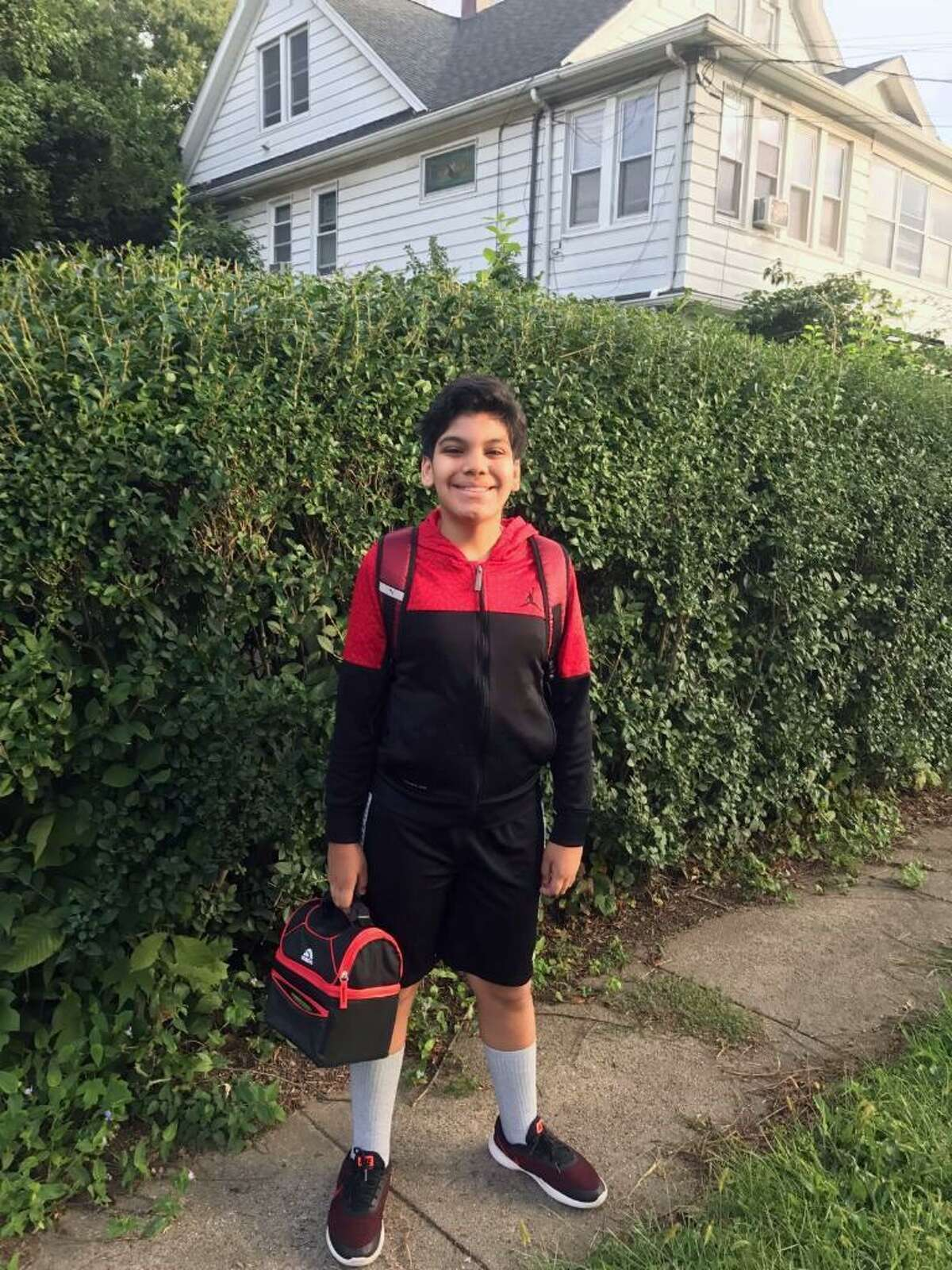 Kevin Garcia-Vazquez is an 11-year-old sixth-grader at Fairfield Woods Middle School who needs a liver transplant.