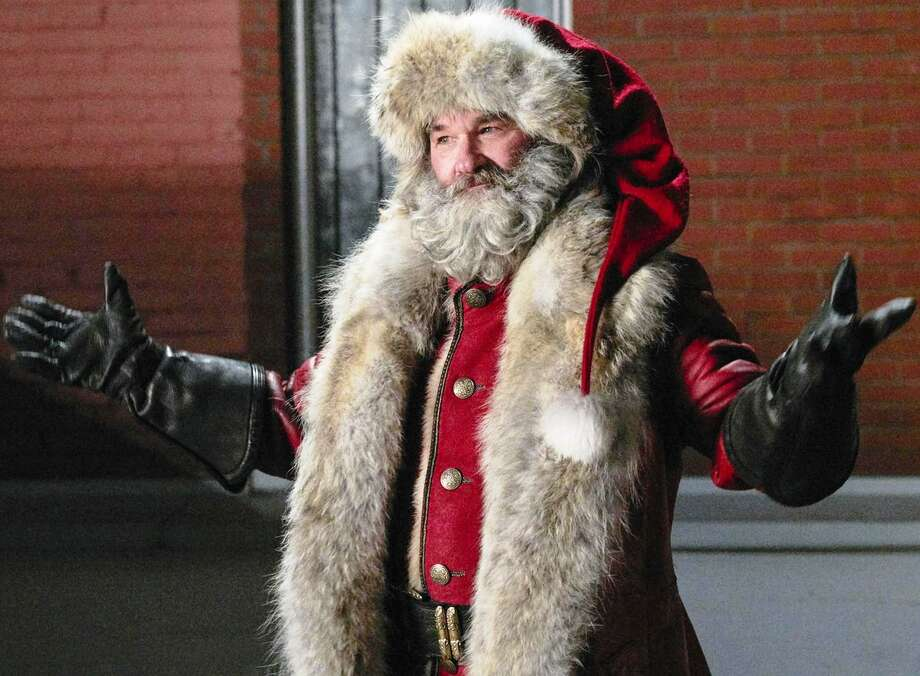 "Kurt Russell is a wisecracking Santa Claus in the Netflix film ""The Christmas Chronicles."" Photo: Netflix / © Netflix."
