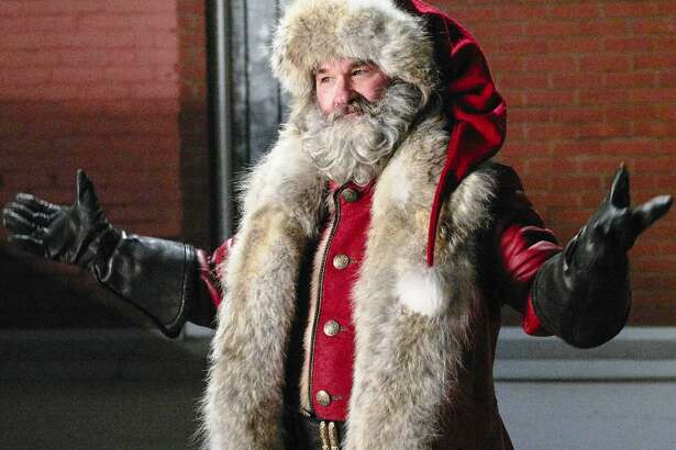 "Kurt Russell is a wisecracking Santa Claus in the Netflix film ""The Christmas Chronicles."""