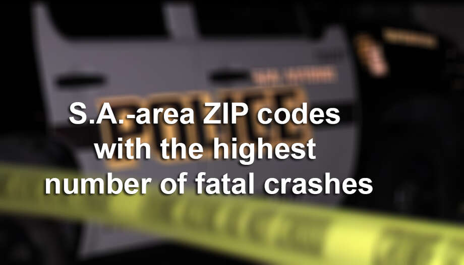 San Antonio-area ZIP codes with the highest number of fatal crashes. Photo: Pro 21 Video