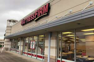 Mattress Firm's location at 102 W. Eldorado in Friendswood, Texas.