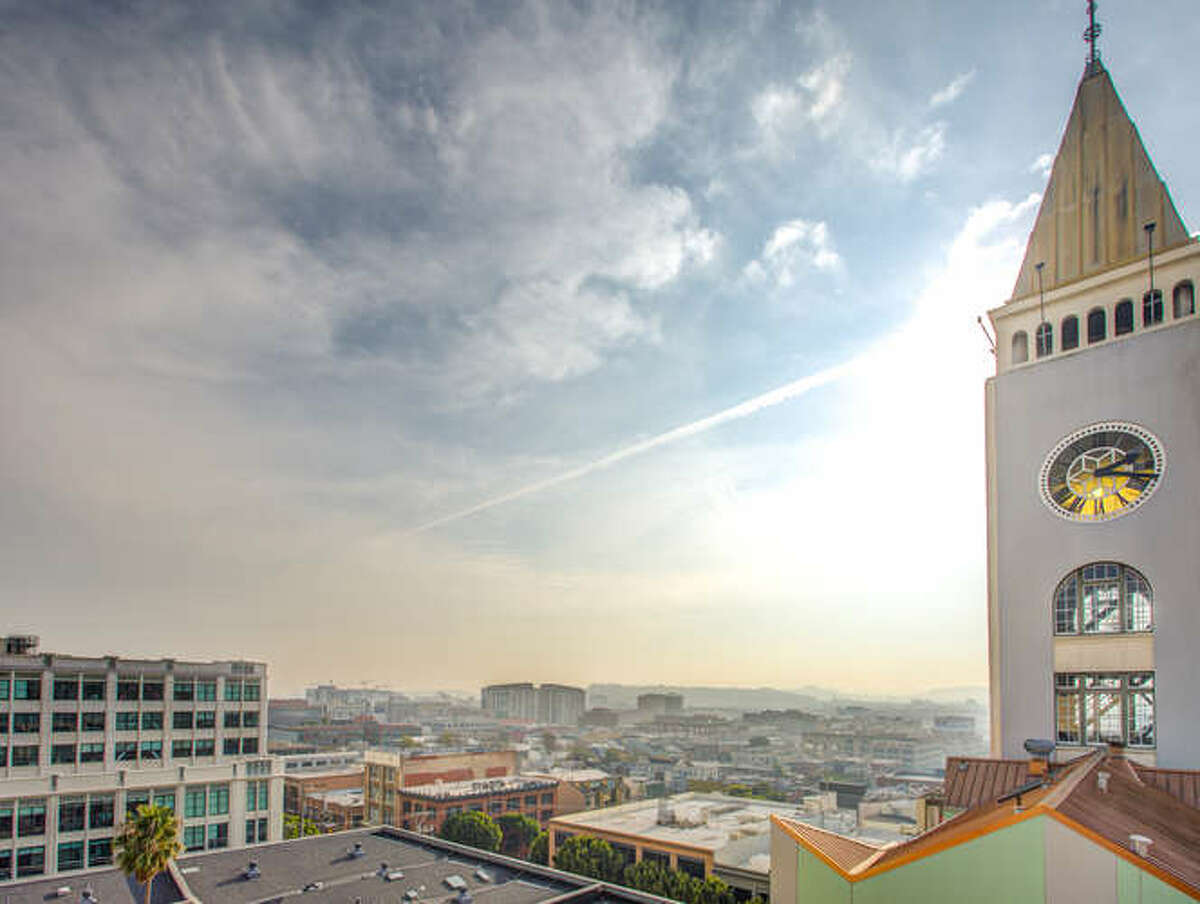 Historic, pretty, and pricey: this two-bedroom condo in SF's Clock Tower asks $2.193M