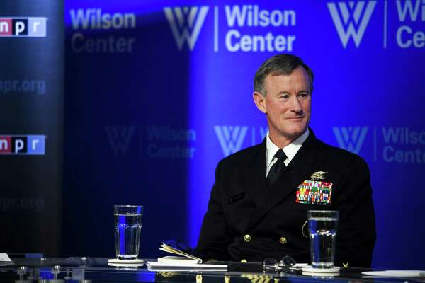 Adm. William McRaven, the commander of U.S. Special Operations Command, at the Woodrow Wilson International Center for Scholars in Washington, May 2, 2013. Colleagues and commanders alike found it audacious for President Donald Trump to impugn the lifelong nonpartisan political position of McRaven, a retired admiral and university chancellor.