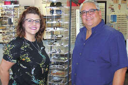 Paul Garza and daughter Shannon can save you up to $600 on progressive lenses until December 20! Buy two frames, both with Unity Via Elite progressive lenses, and you'll get the second pair of lenses free! They're in the Cornerstone Shopping Center at Midland Drive and Loop 250 in Midland.
