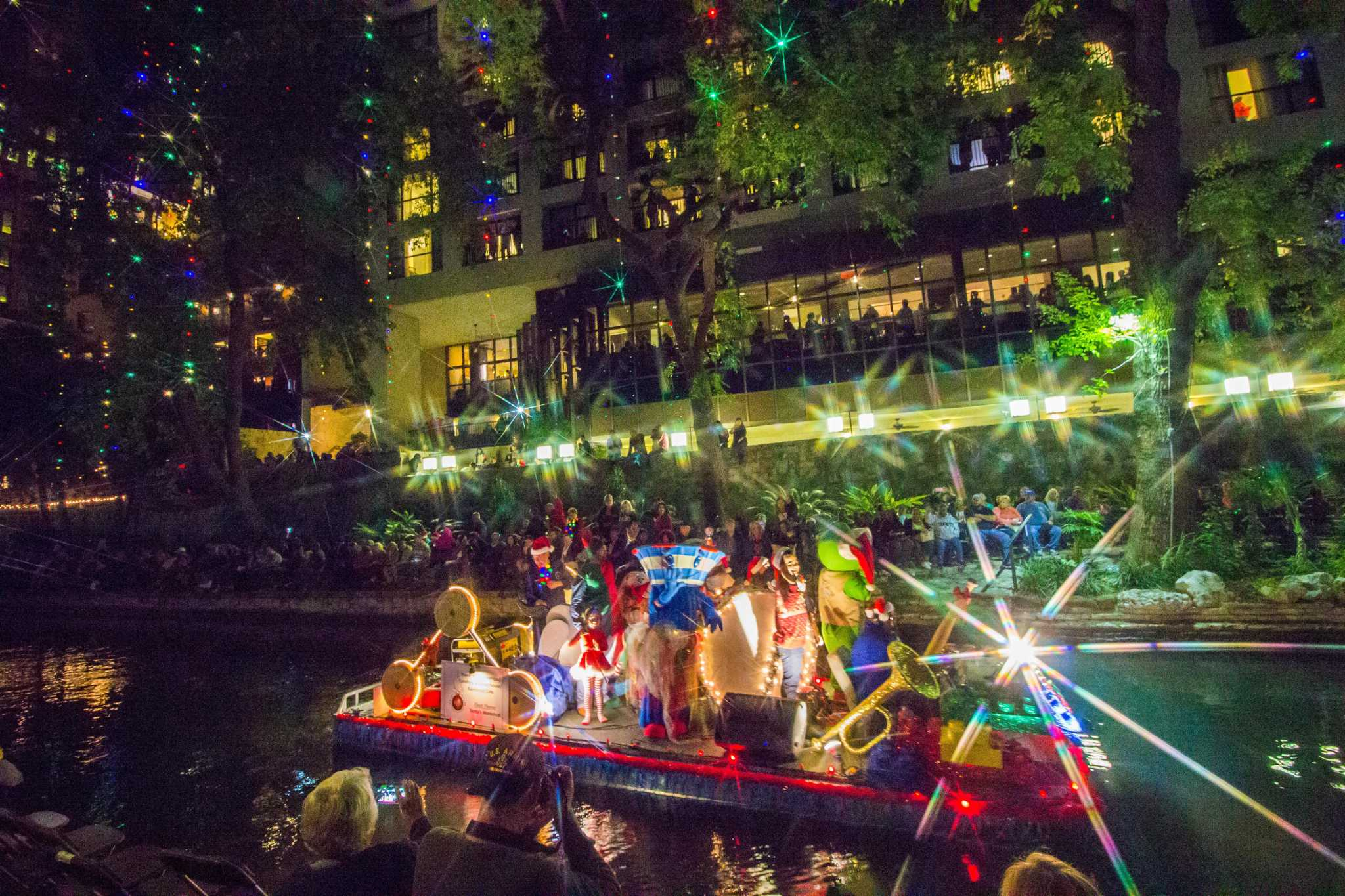 San Antonio Lights Up For The Holidays