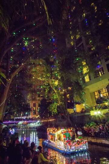 San Antonio Lights Up For The Holidays On Friday