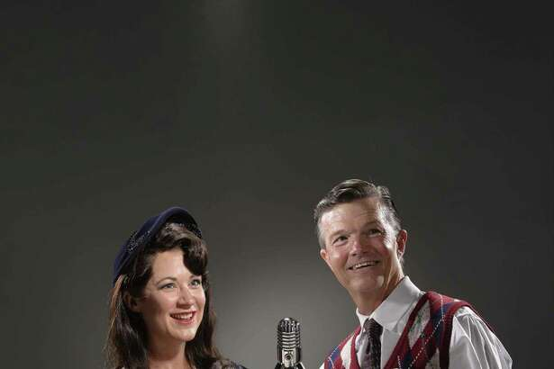 """Actors Christy Watkins and Joel Sandel are set to portray Mary and George Bailey in the A.D. Players production of """"It's a Wonderful Life: A Radio Play"""" from Friday, Nov. 30, though Sunday, Dec. 23, at the George Theater. The production tells the iconic Christmas story of how George Bailey finds that his life has meaning, told through the lens of a 1940s live radio play."""