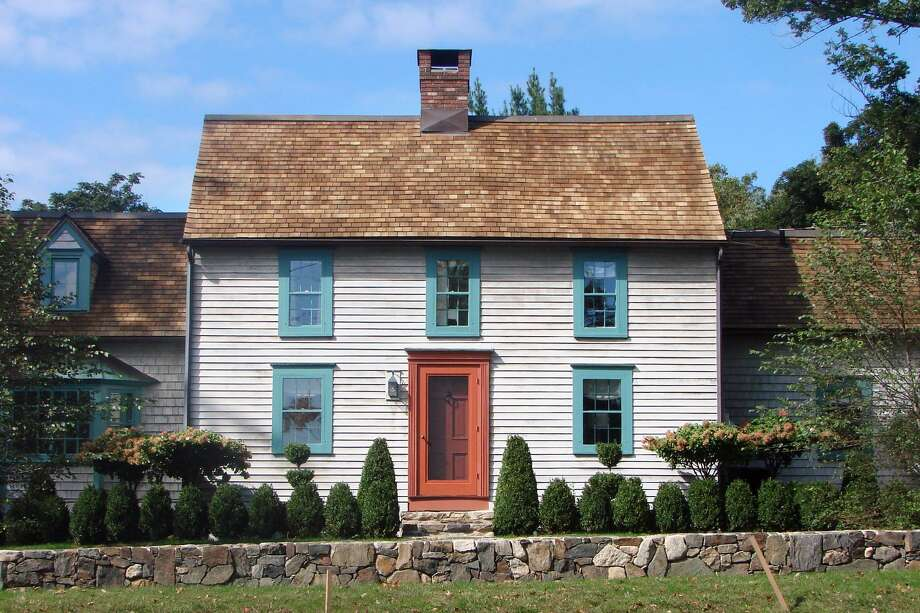 The preserved antique colonial house at 27 Long Lots Road. Photo: Contributed/ Bob Weingarten / Hearst Connecticut Media