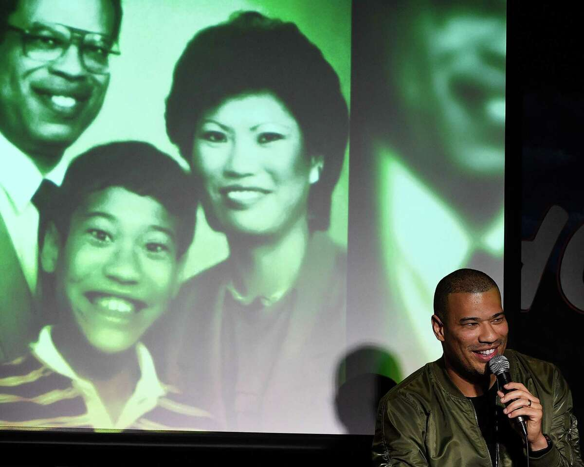 Comedian and TV personality Michael Yo performs during his appearance at The Ice House Comedy Club on March 16, 2018 in Pasadena, California.