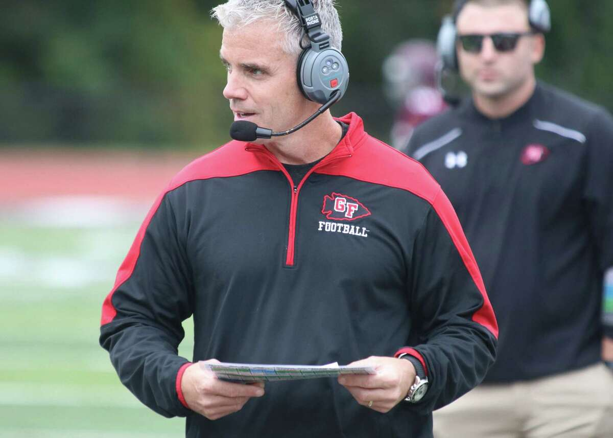 Glens Falls football coach Pat Lilac, pictured, is taking a sabbatical this season, and Kurt Conduzio will take the reins for the Indians.
