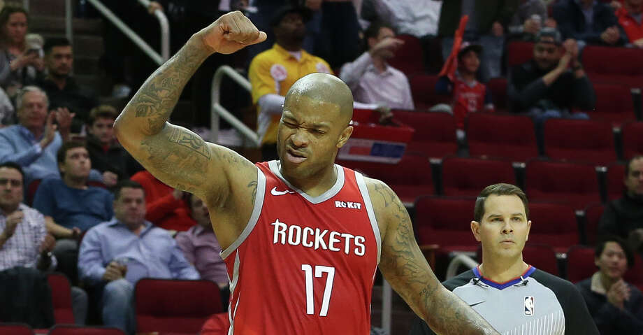 PHOTOS: Rockets game-by-game Houston Rockets forward PJ Tucker (17) cheers for forward Isaiah Hartenstein getting a plus-one from the Golden State Warriors' foul during the first quarter of the NBA game at Toyota Center on Thursday, Nov. 15, 2018, in Houston. Browse through the photos to see how the Rockets have fared in each game this season. Photo: Yi-Chin Lee/Staff Photographer / © 2018 Houston Chronicle