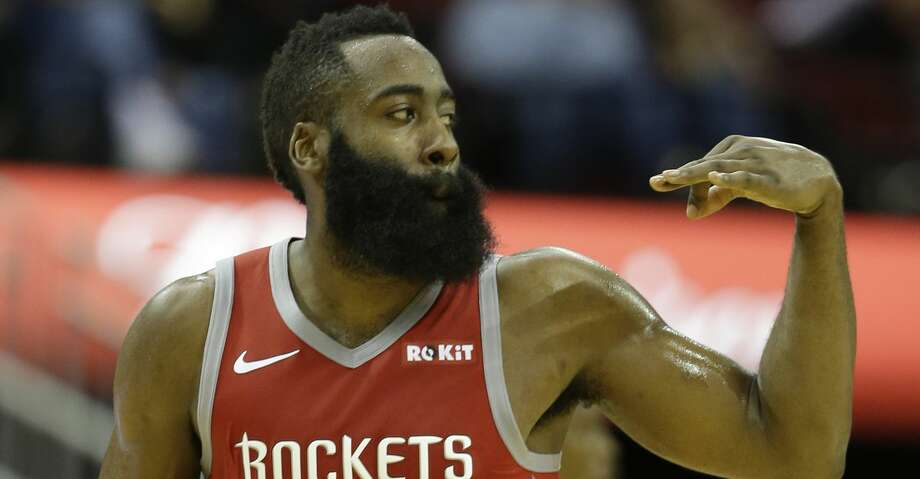 PHOTOS: Rockets game-by-game Houston Rockets James Harden signals one of his three point shots against the Sacramento Kings during the second half of game at Toyota Center Saturday, Nov. 17, 2018, in Houston. Browse through the photos to see how the Rockets have fared in each game this season. Photo: Melissa Phillip/Staff Photographer