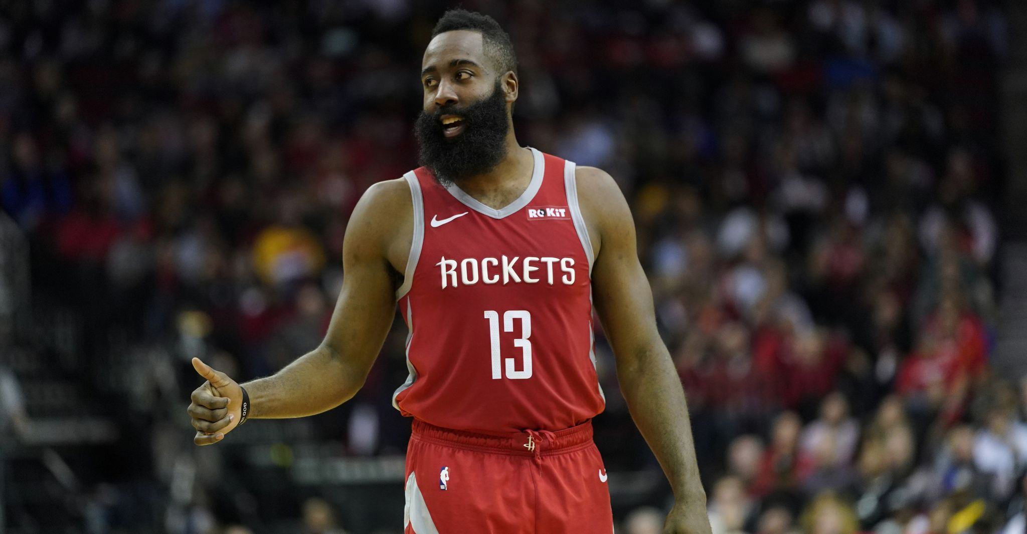 91f0fd432805 James Harden becomes Rockets  No. 3 all-time scorer - Houston Chronicle