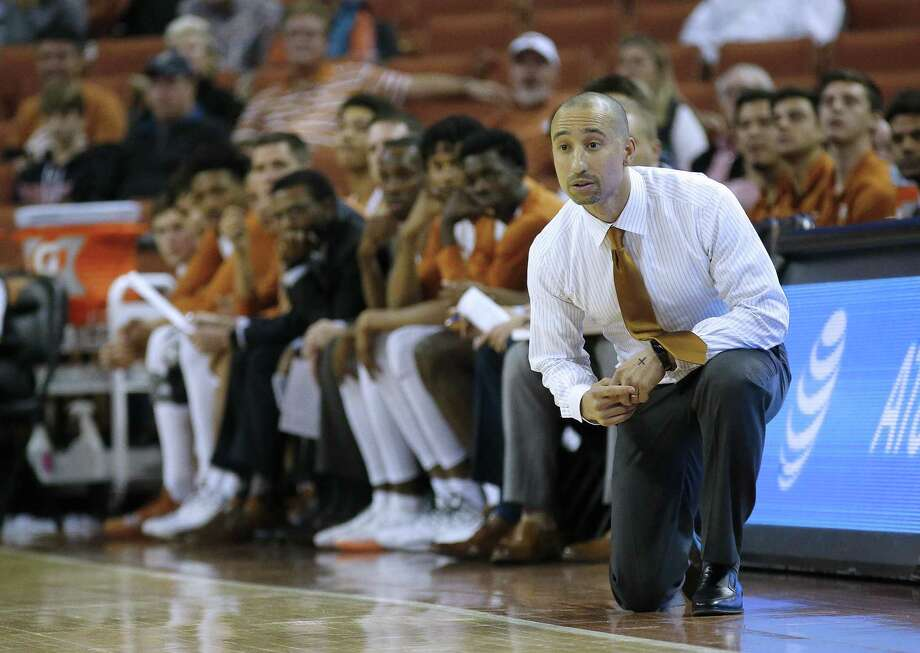 Texas coach Shaka Smart will find out how good his team really is over the next two days against ranked foes in Las Vegas. Photo: Chris Covatta / Getty Images / 2018 Getty Images