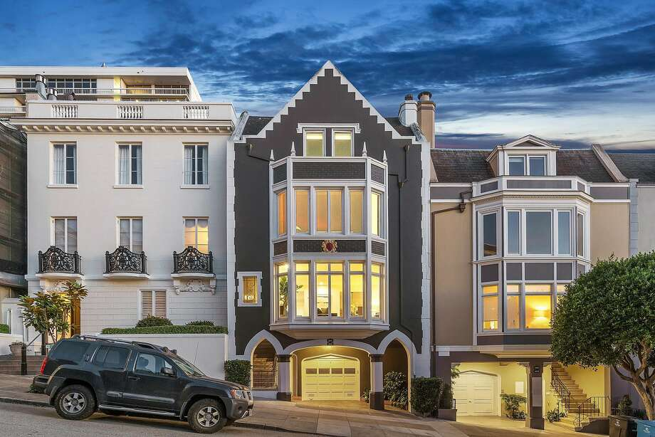 2249 Clay St. Unit 1 in Pacific Heights is a three-bedroom, two-and-a-half bathroom condominium occupying a full floor. Photo: Open Homes Photography