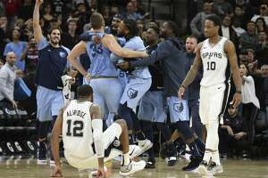 The NBA acknowledged the officials missed a foul by the Grizzlies' Marc Gasol on a 3-point attempt by LaMarcus Aldridge at the buzzer on Wednesday at the AT&T Center. The Spurs lost, 104-103.