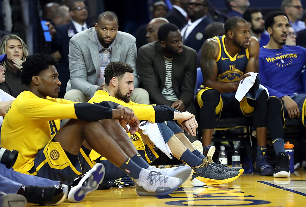 Time for Warriors to thrive lost under a cloud - SFChronicle.com 8f2fb4121