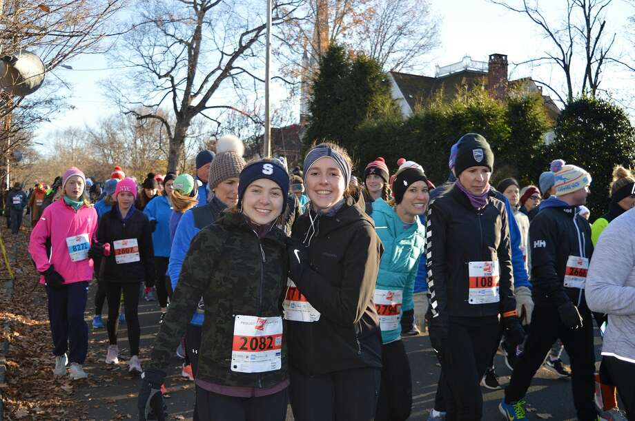 The Pequot Runners annual Thanksgiving Day Race was held on November 22, 2018 in Southport. Were you SEEN? Photo: Todd Tracy / Hearst CT Media