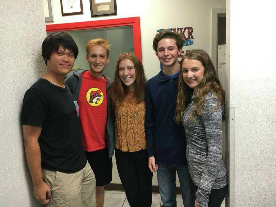 Five current and former West Brook High School students will march in the Macy's Great American Marching Band in the Thanksgiving Day Parade.