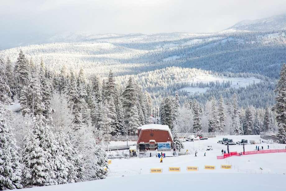 Northstar received 7 inches of fresh powder, Nov. 21-22, 2018. Photo: Northstar California Resort