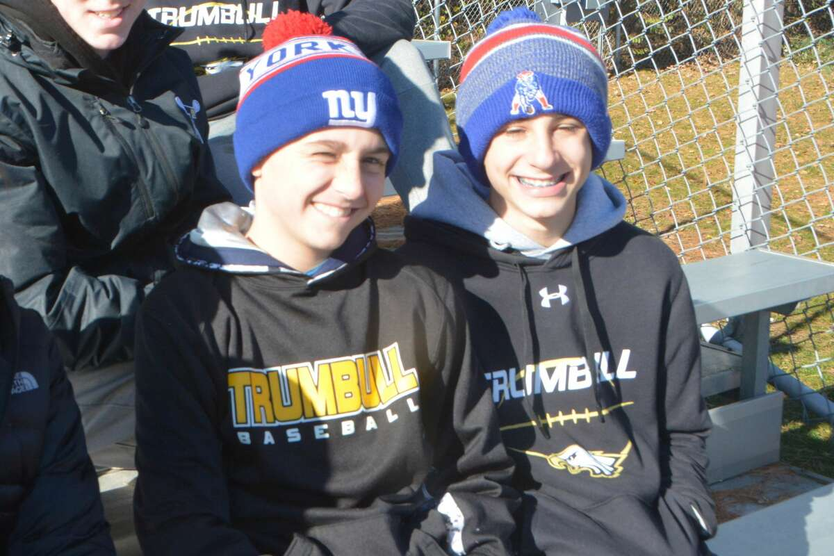 Trumbull and St. Joseph High Schools faced off on the football field during their annual turkey bowl on November 22, 2018. Were you SEEN in the stands?