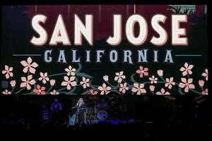 Stevie Nicks sings during a Fleetwood Mac concert at SAP Center on Wednesday, Nov. 21, 2018, in San Jose, Calif.
