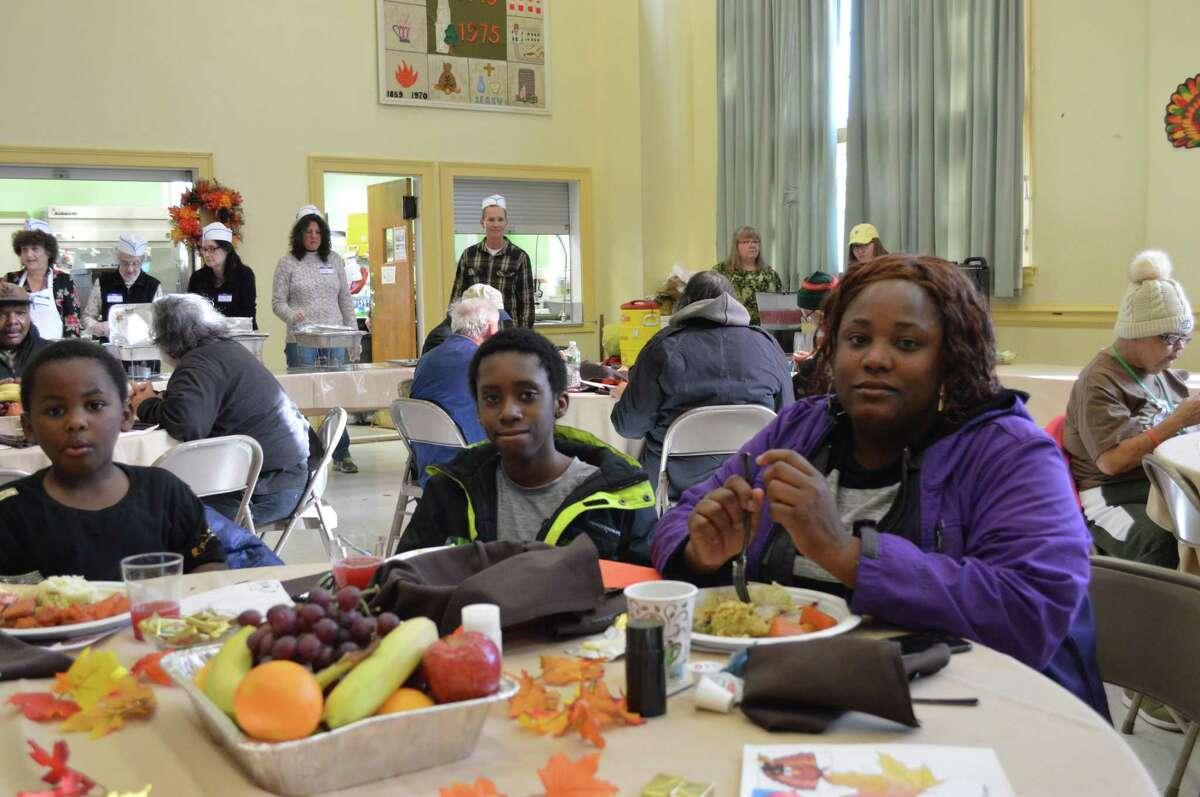 Community Thanksgiving Dinner at First Congregational Church, Nov. 22, 2018